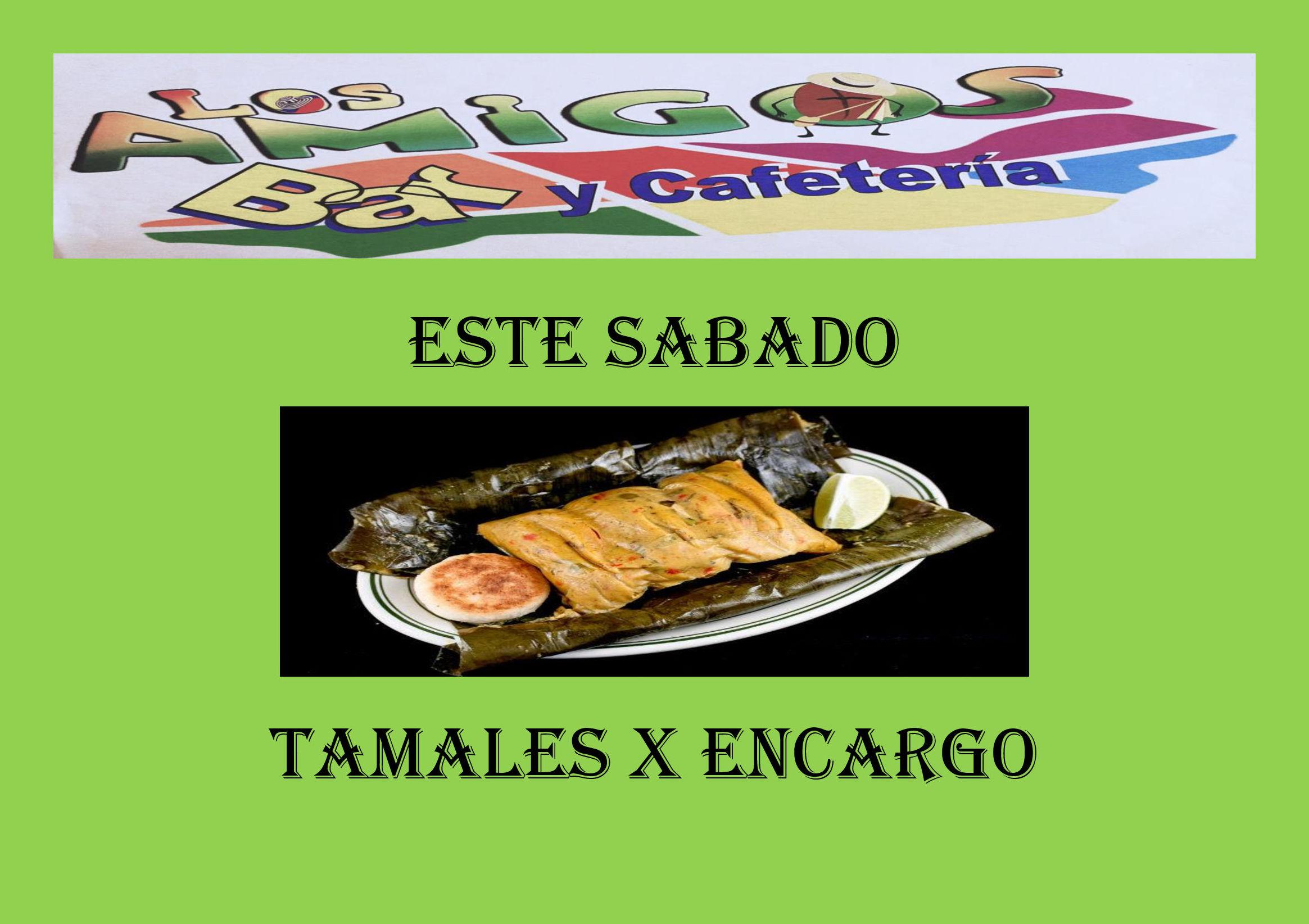tamales proximo sabado 4 de mayo