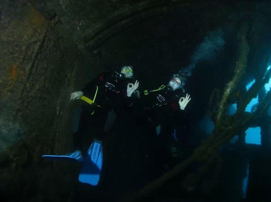 Prácticas de submarinismo