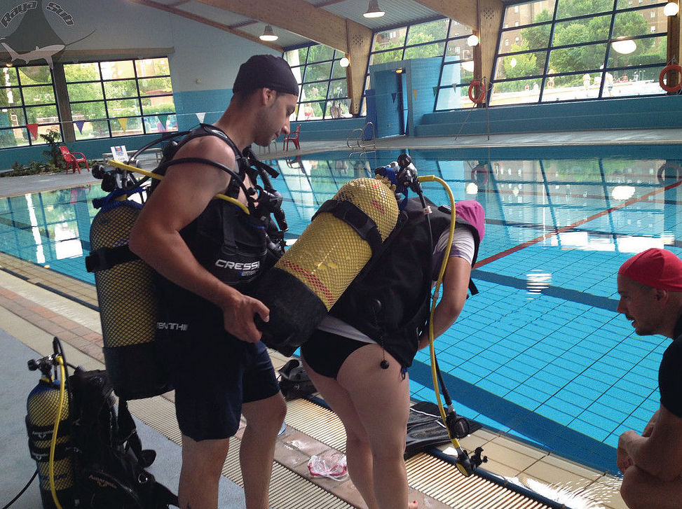 Open Water Diver en julio de 2014