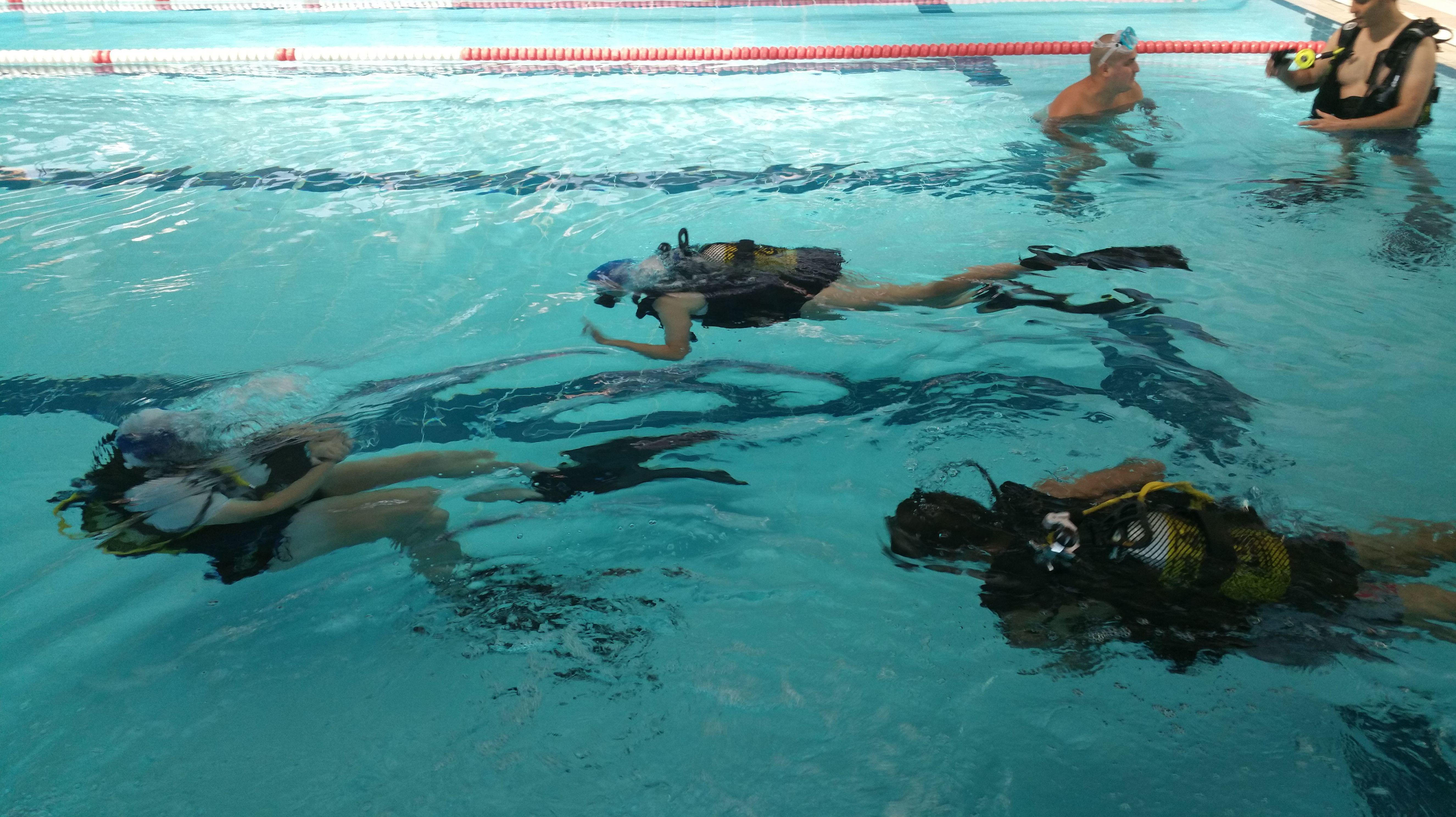 Raya Sub, escuela de submarinismo en Madrid