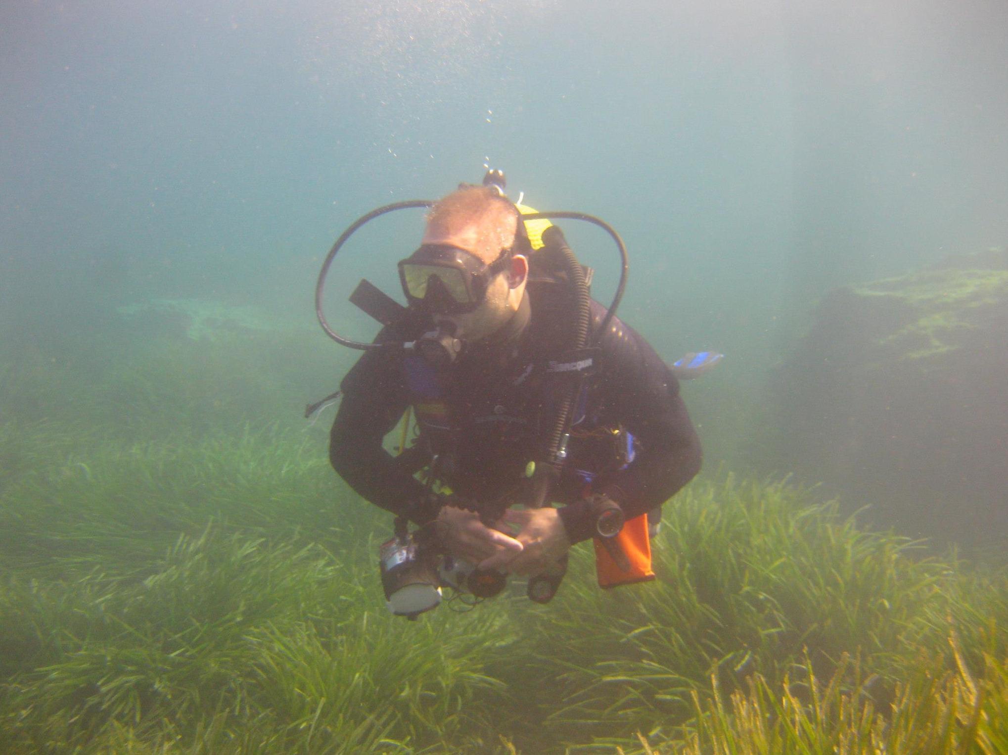 Visitando el fondo marino