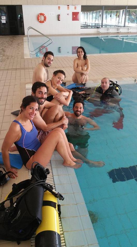 Centro de submarinismo en Madrid