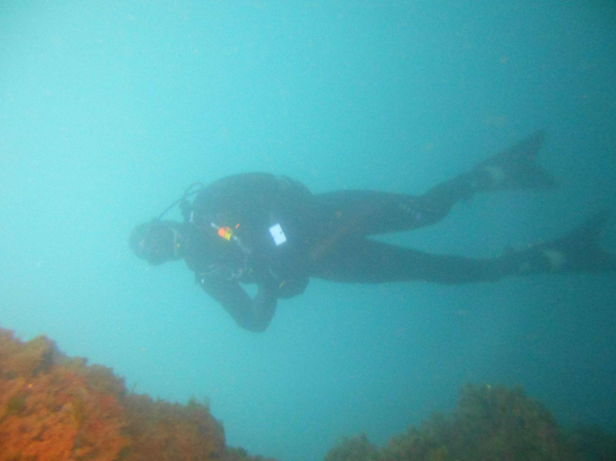 Inmersión de submarinista