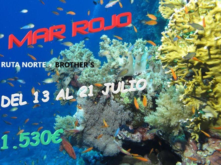 Viaje Mar Rojo: Servicios de Raya Sub