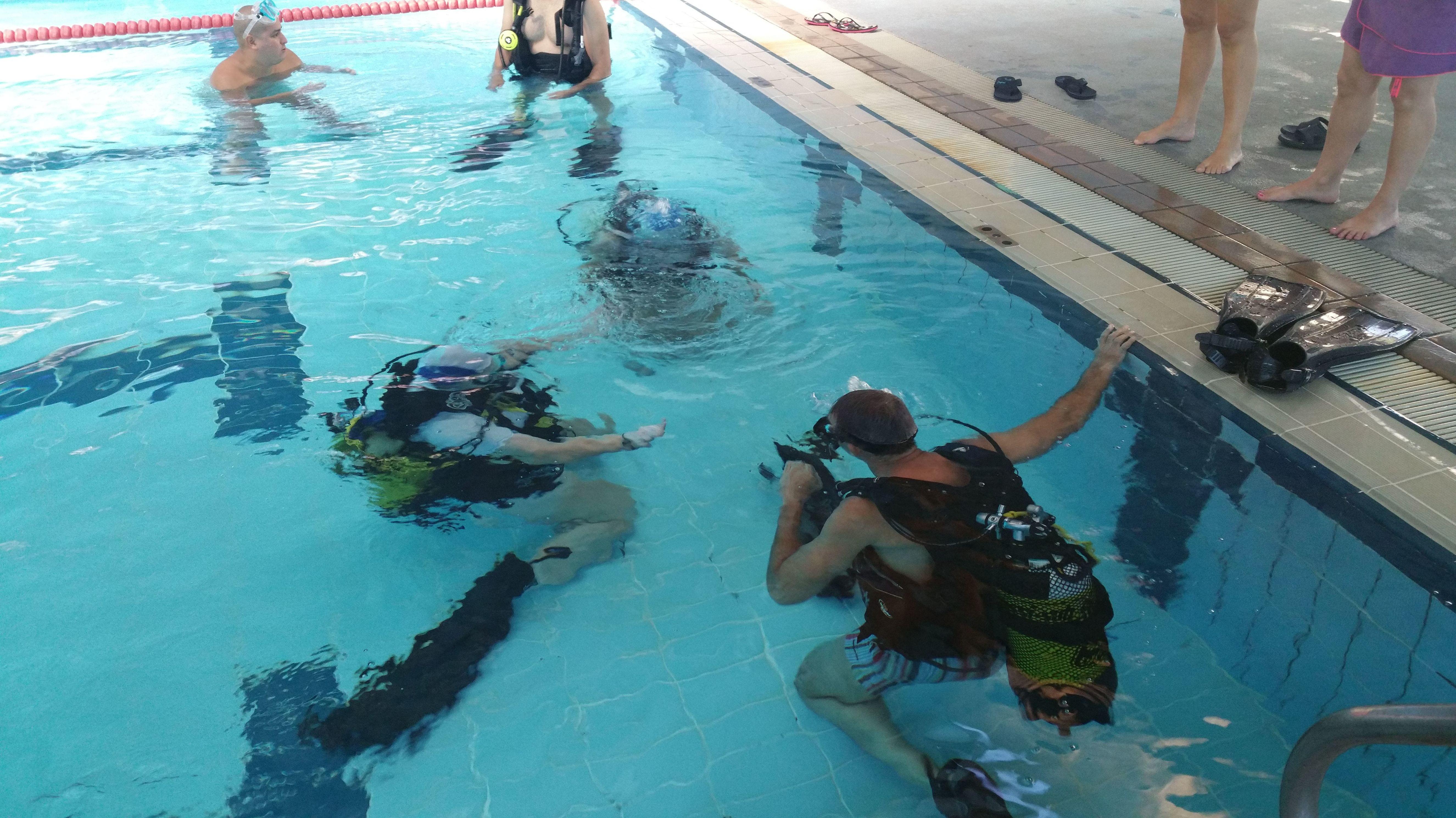 Raya Sub, cursos de submarinismo en Madrid