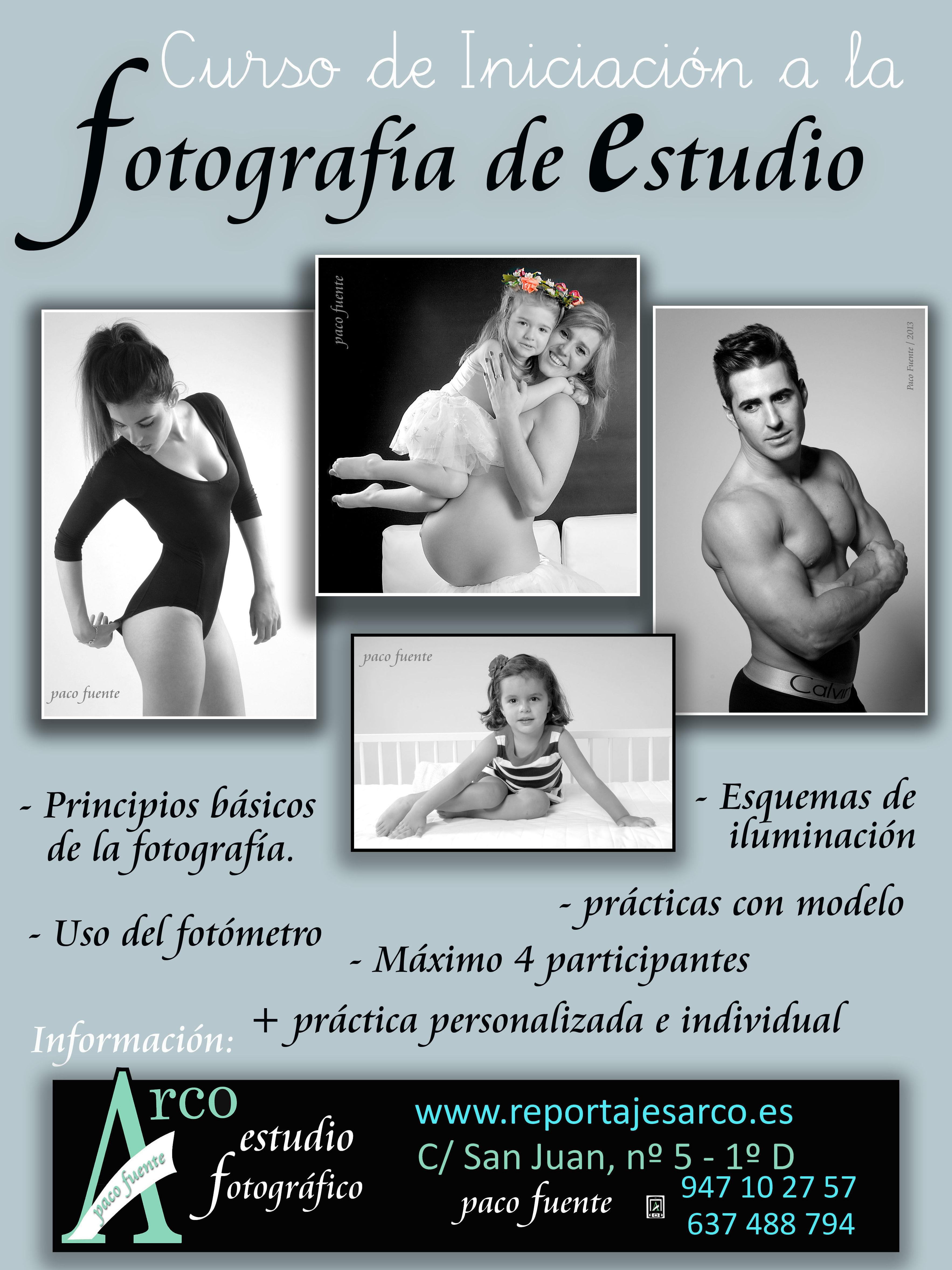 Curso de Fotografía de Estudio en Burgos