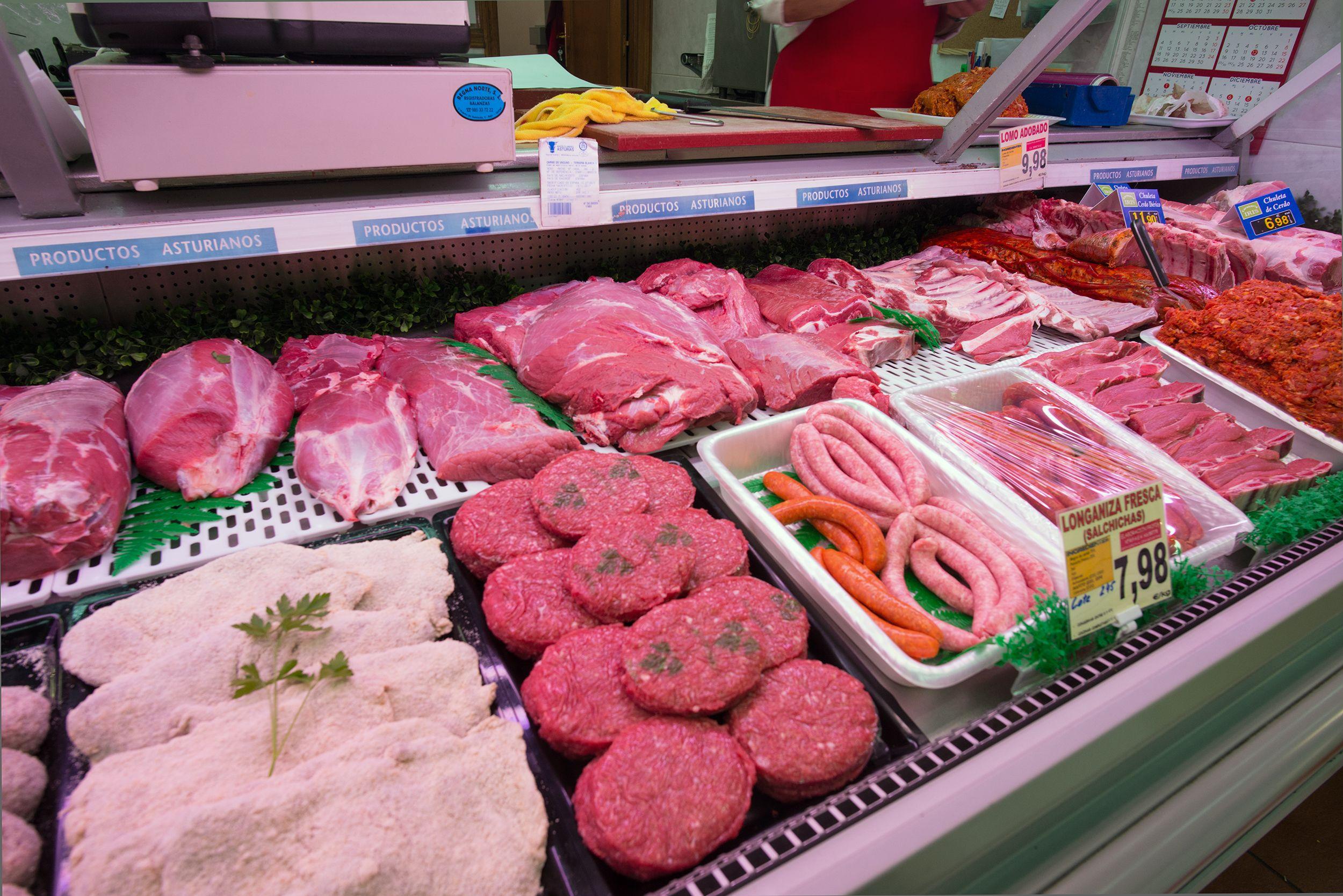 Productos de carnicería en Oviedo
