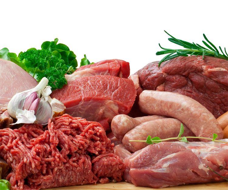 Carnicería con productos exquisitos
