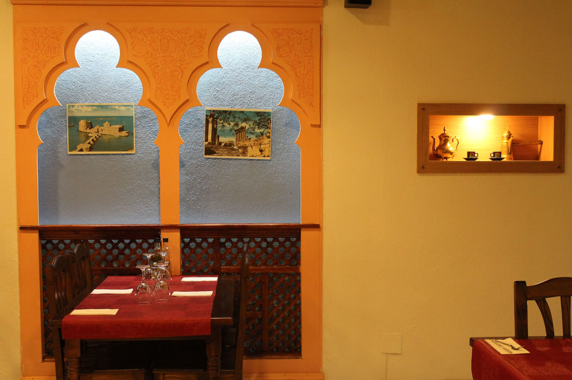 Sala interior - Restaurante Mataró - Les Mil i Una Nits