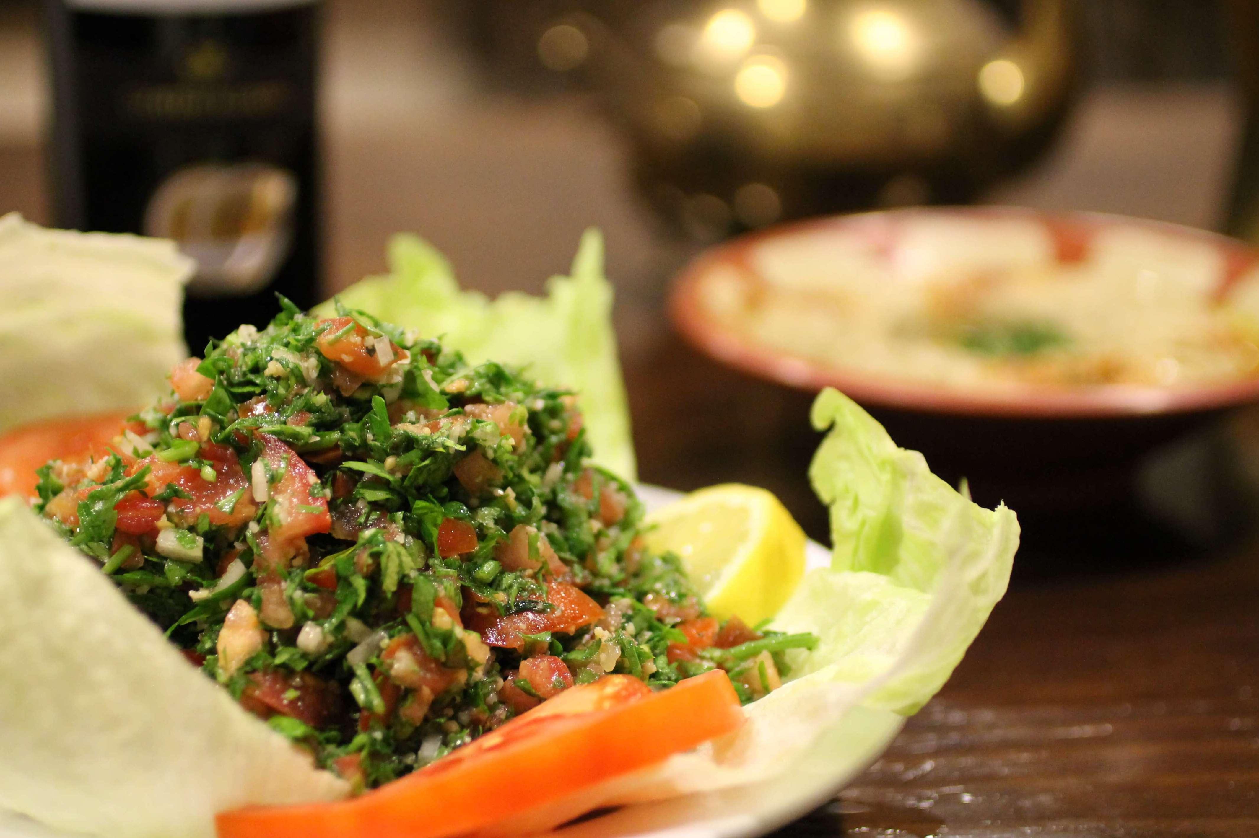 Ensalada Libanesa - Restaurante Mataró - Les Mil i Una Nits