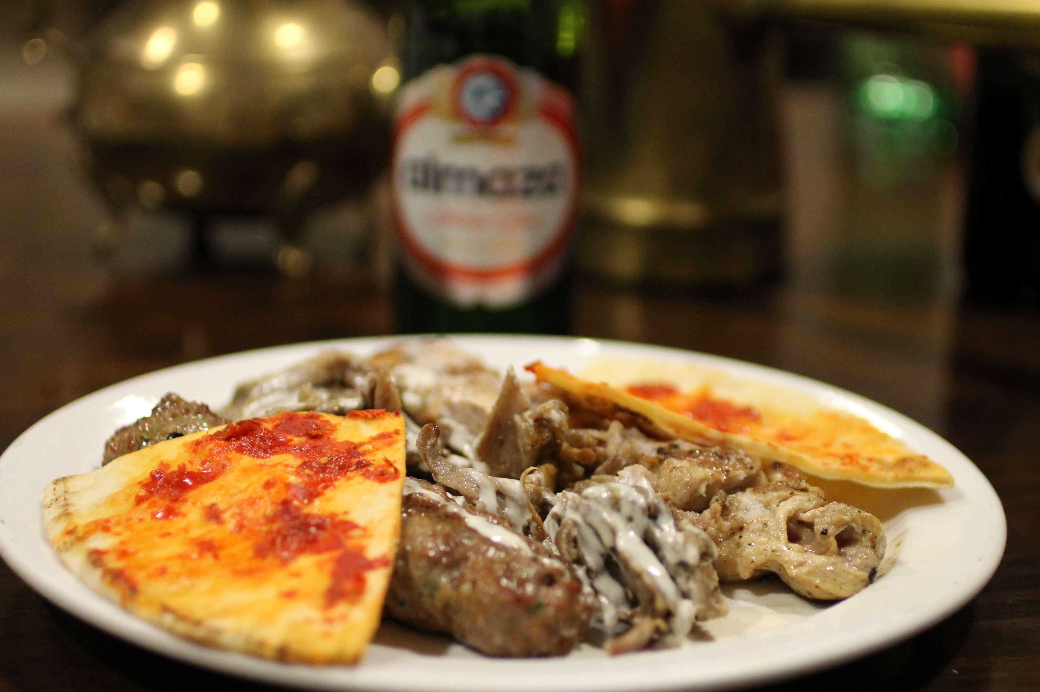 Pincho variado - Restaurante Mataró - Les Mil i Una Nits