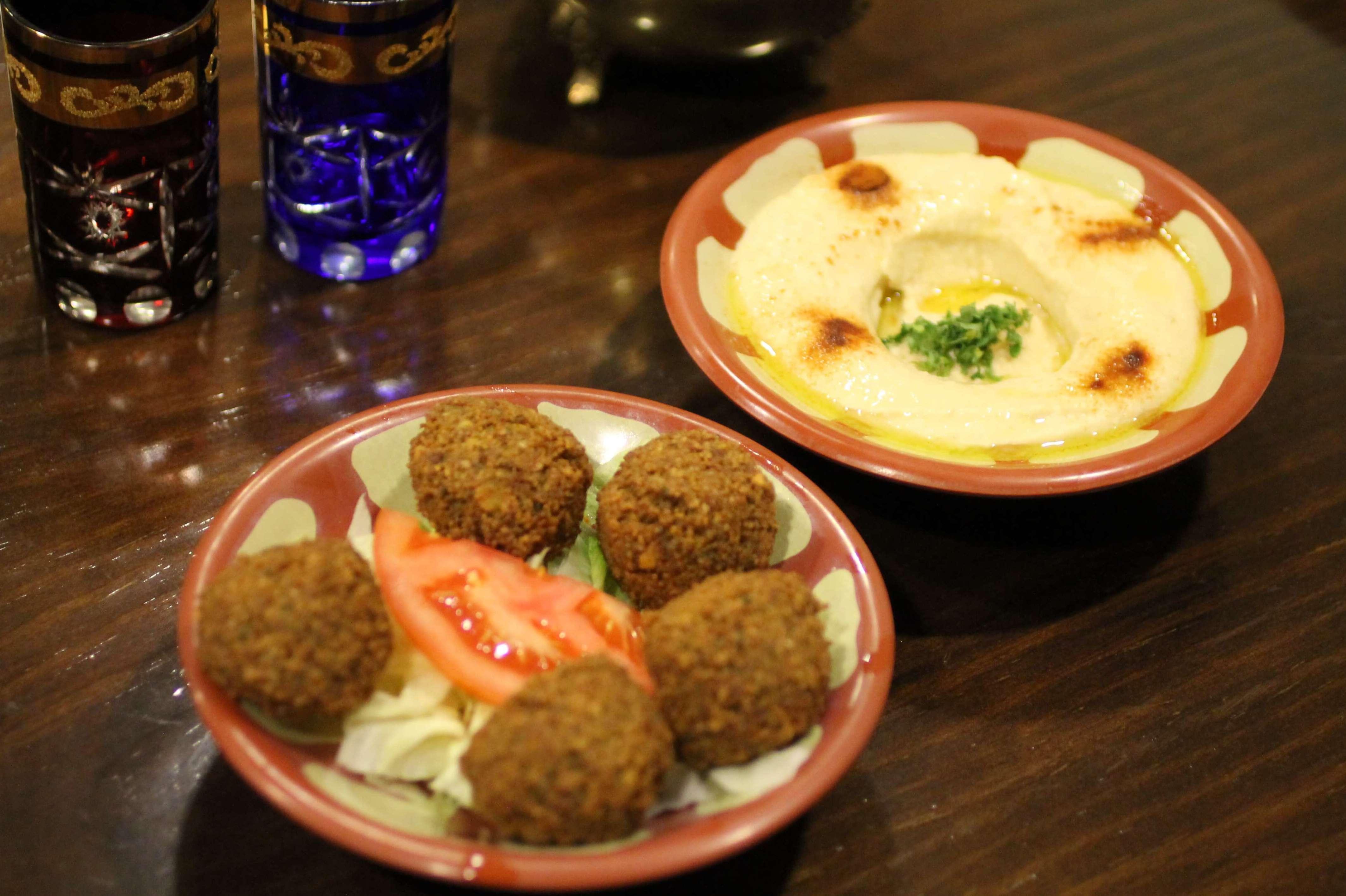 Falafel y Hummus - Restaurante Mataró - Les Mil i Una Nits