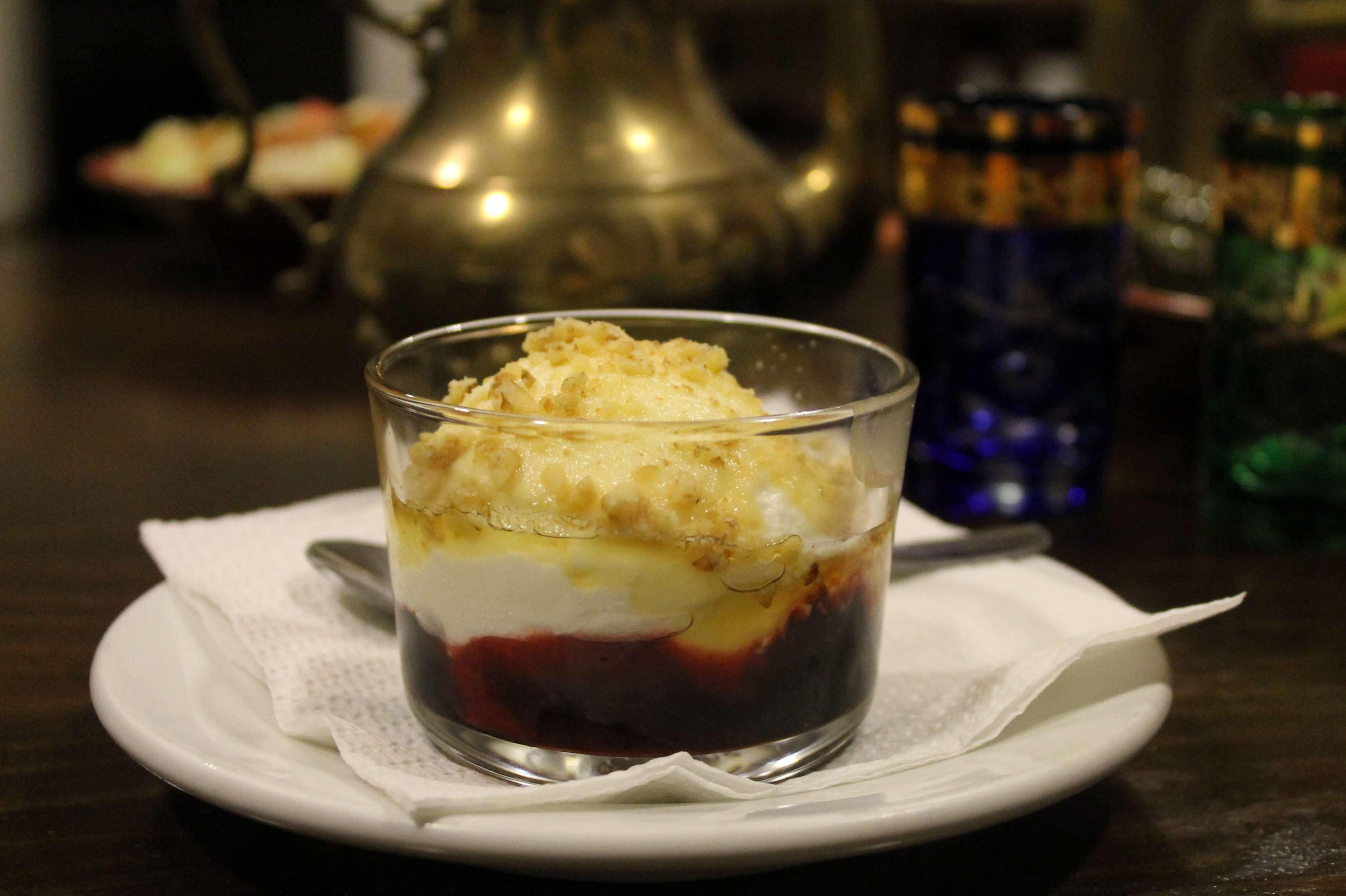 Yogur al estilo libanés - Restaurante Mataró - Les Mil i Una Nits