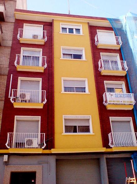 Rehabilitación de fachadas y edificios en Zaragoza