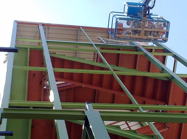 Reparación de elementos estructurales metálicos mediante soldadura