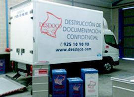 Foto 1 de Destrucción de documentos en Mocejón | Desdoco
