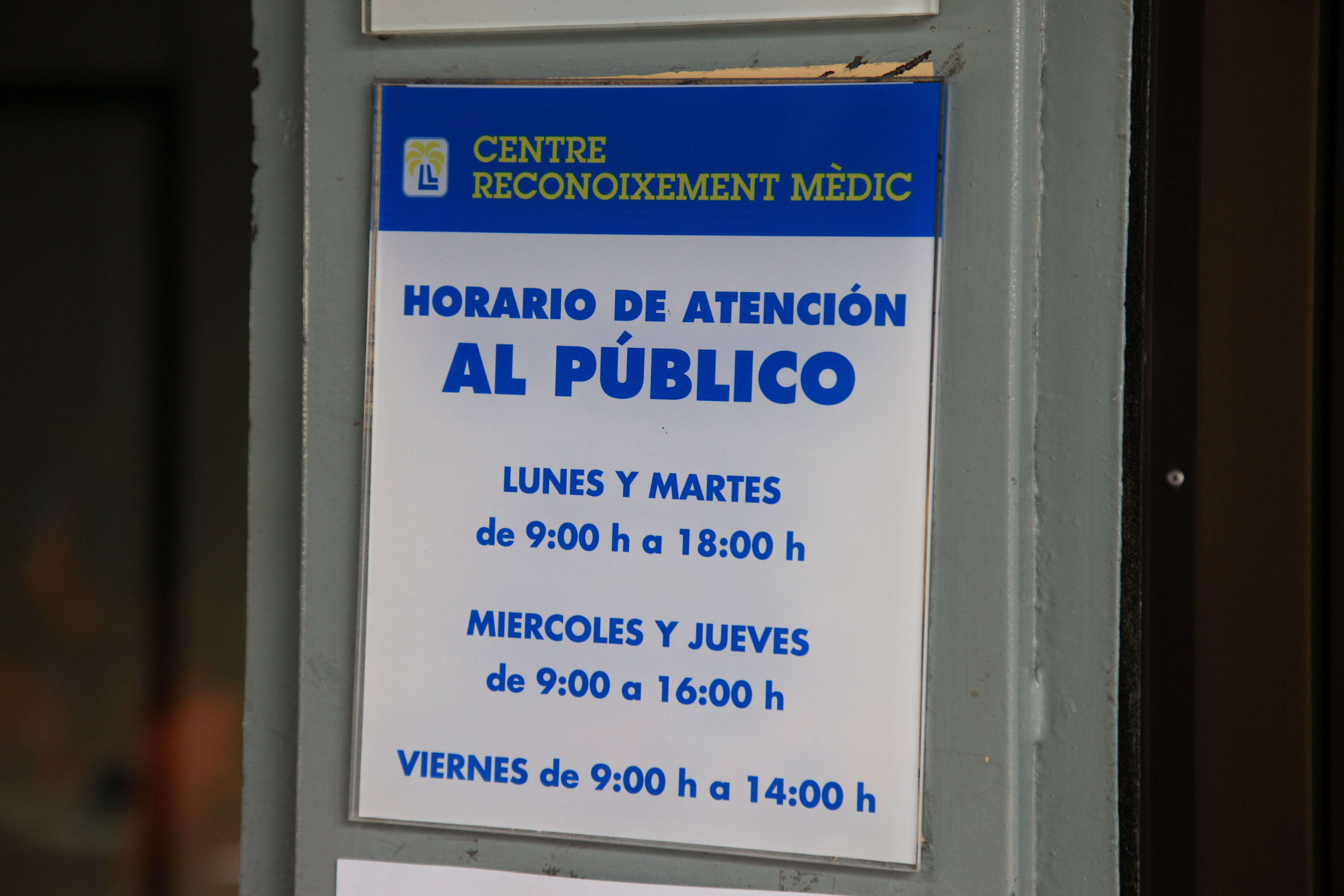 Foto 4 de Reconocimientos y certificados médicos en Palma de Mallorca | Centro Médico Mercat de Llevant