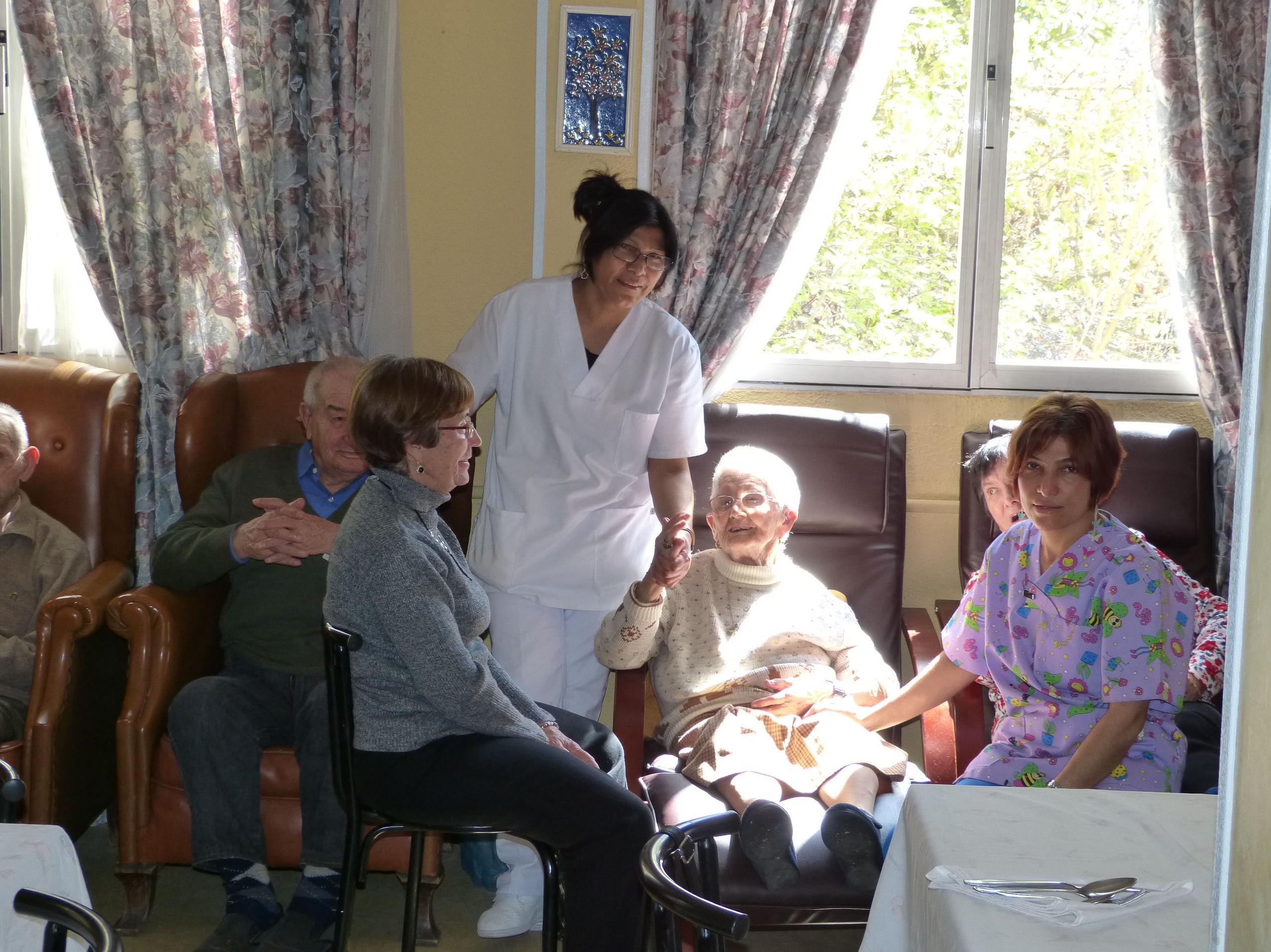 Terapia Ocupacional: Residencia Geriatrica de Residencia El Jardín