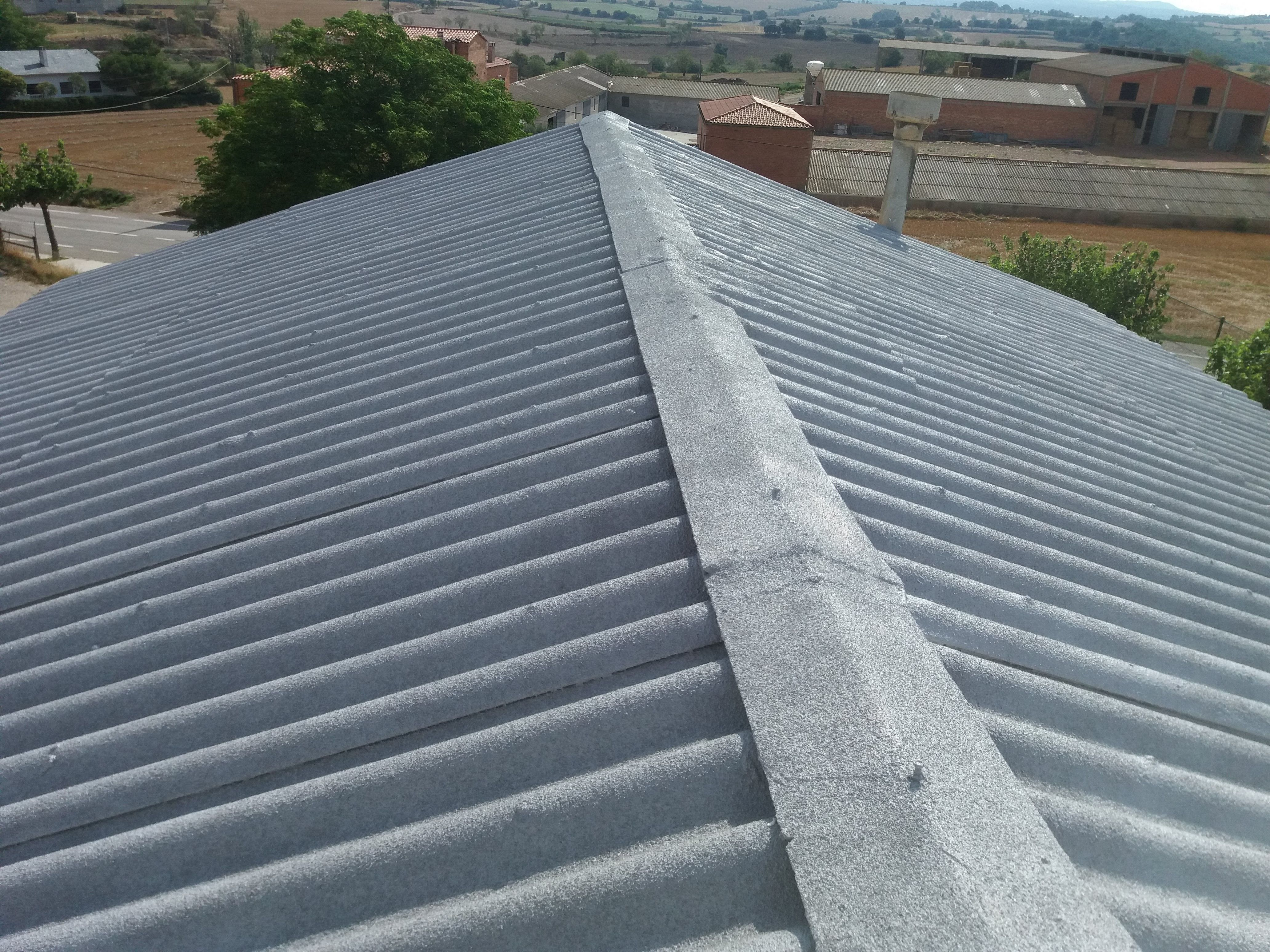 Result of waterproofing of roofs
