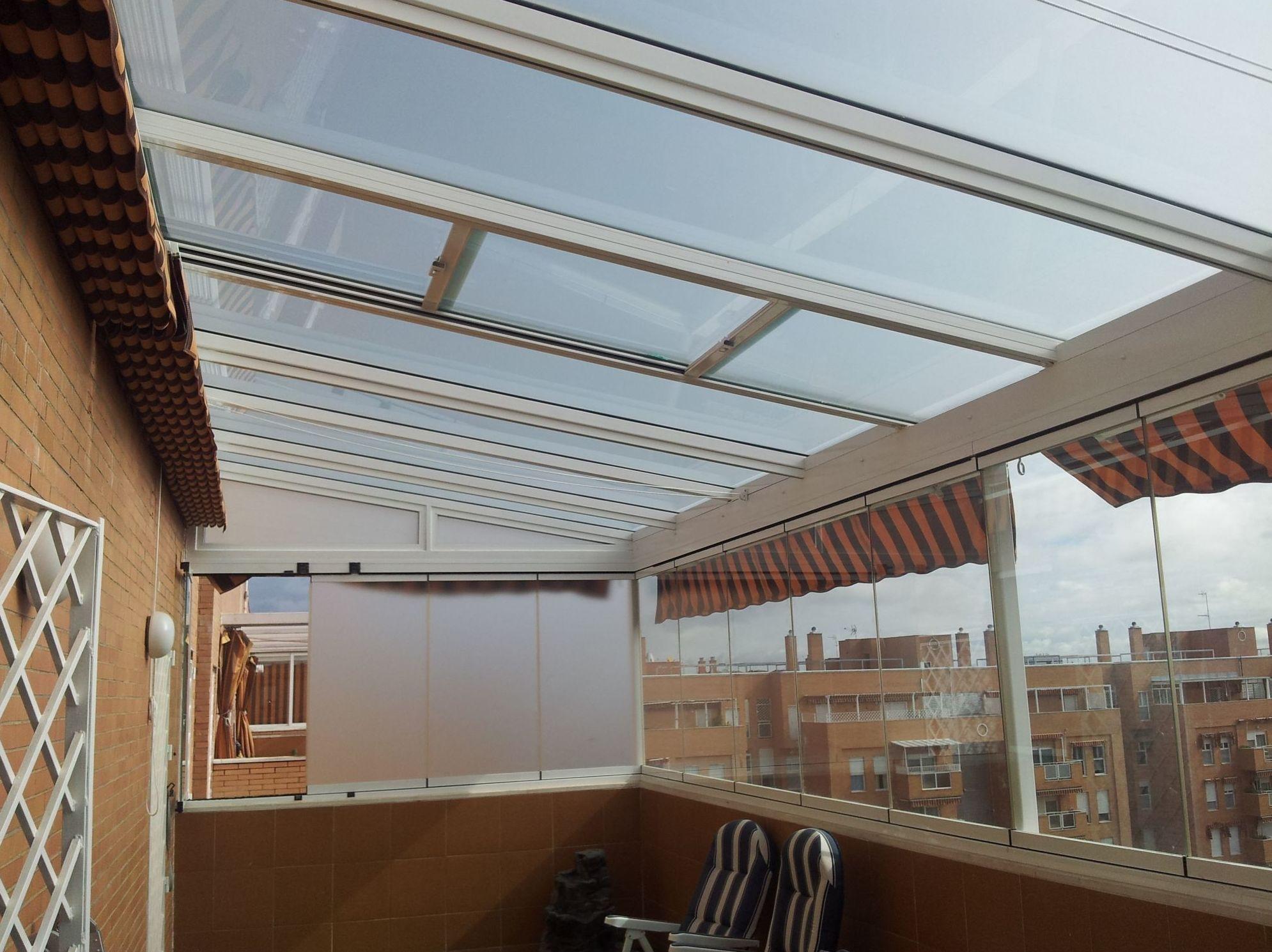 Empresa especializada en techos de cristal