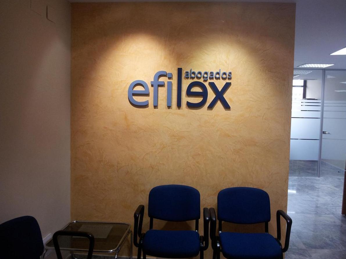 Reforma oficinas Efilex abogados en Edifico Viapol - Sevilla
