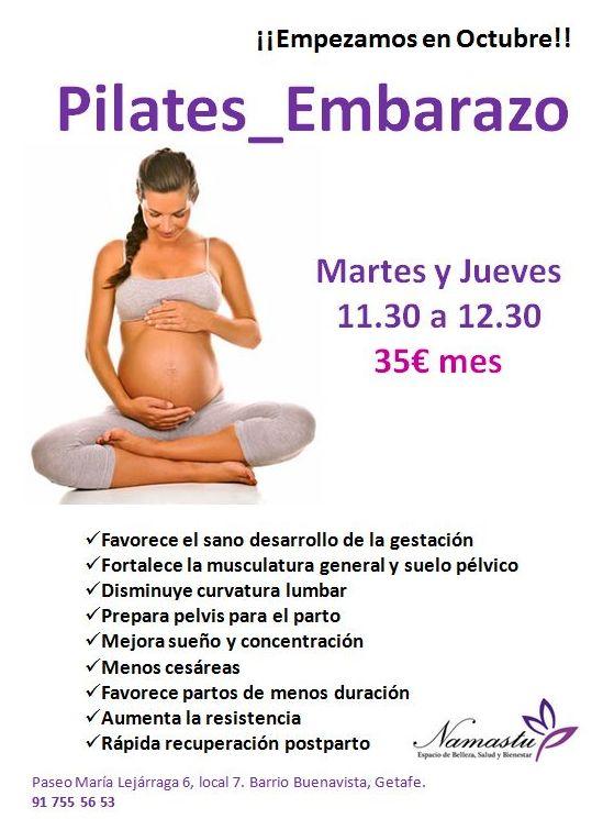 Pilates Embarazo: Servicios y Talleres de Namastu. Espacio de Belleza, Salud y Bienestar