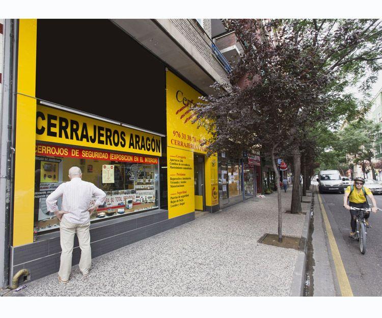 Puertas blindadas en Zaragoza