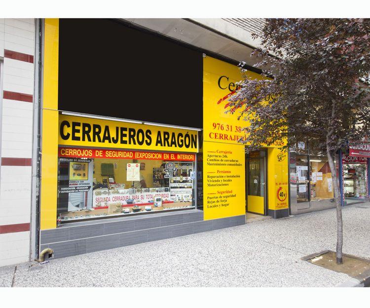 Servicio de cerrajería en  Zaragoza