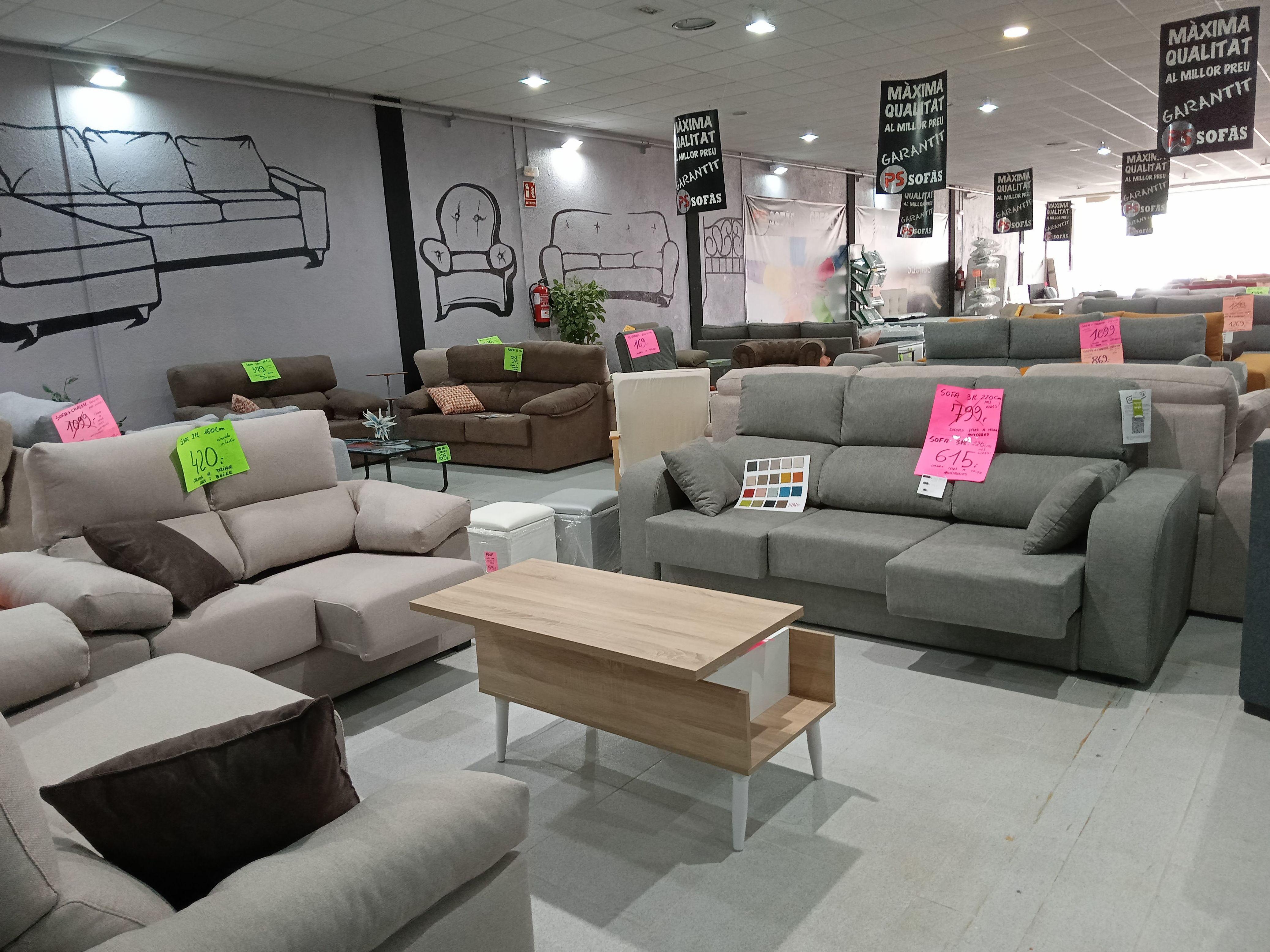 Foto 5 de Colchones, sofás y canapés en    PS Sofás
