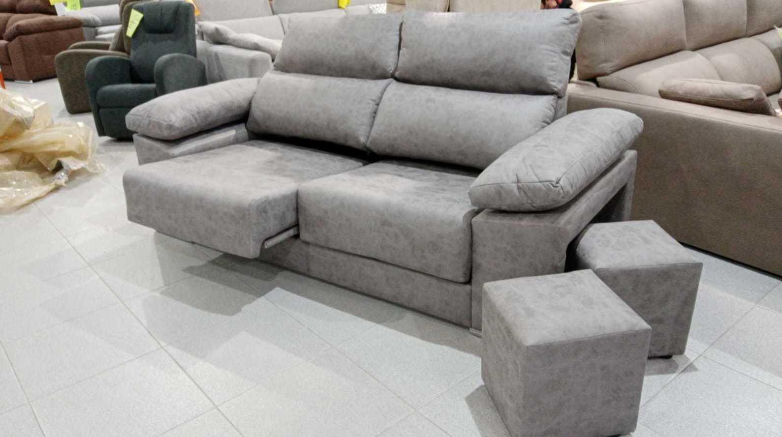 sofa con módulos extraibles