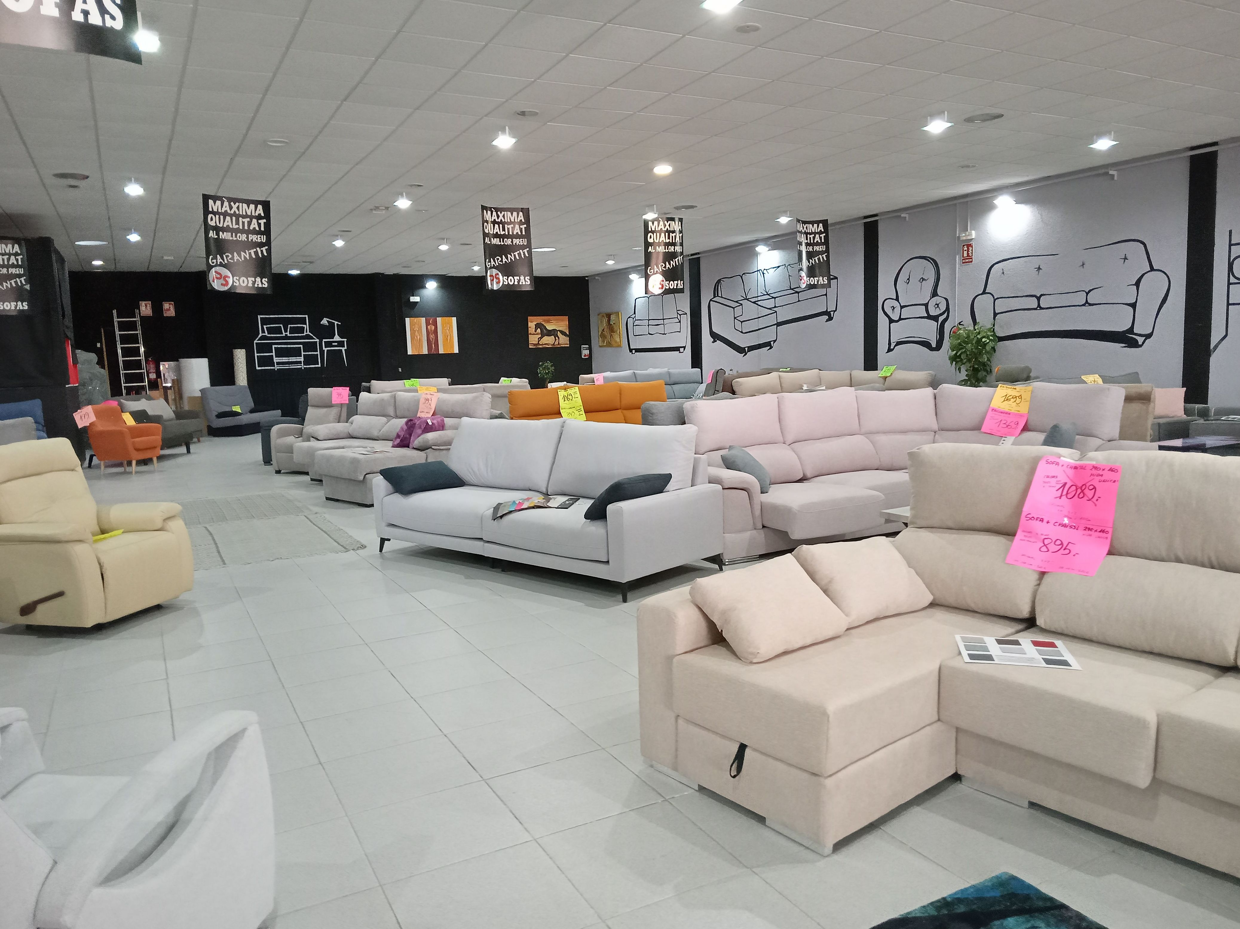 Foto 4 de Colchones, sofás y canapés en  | PS Sofás