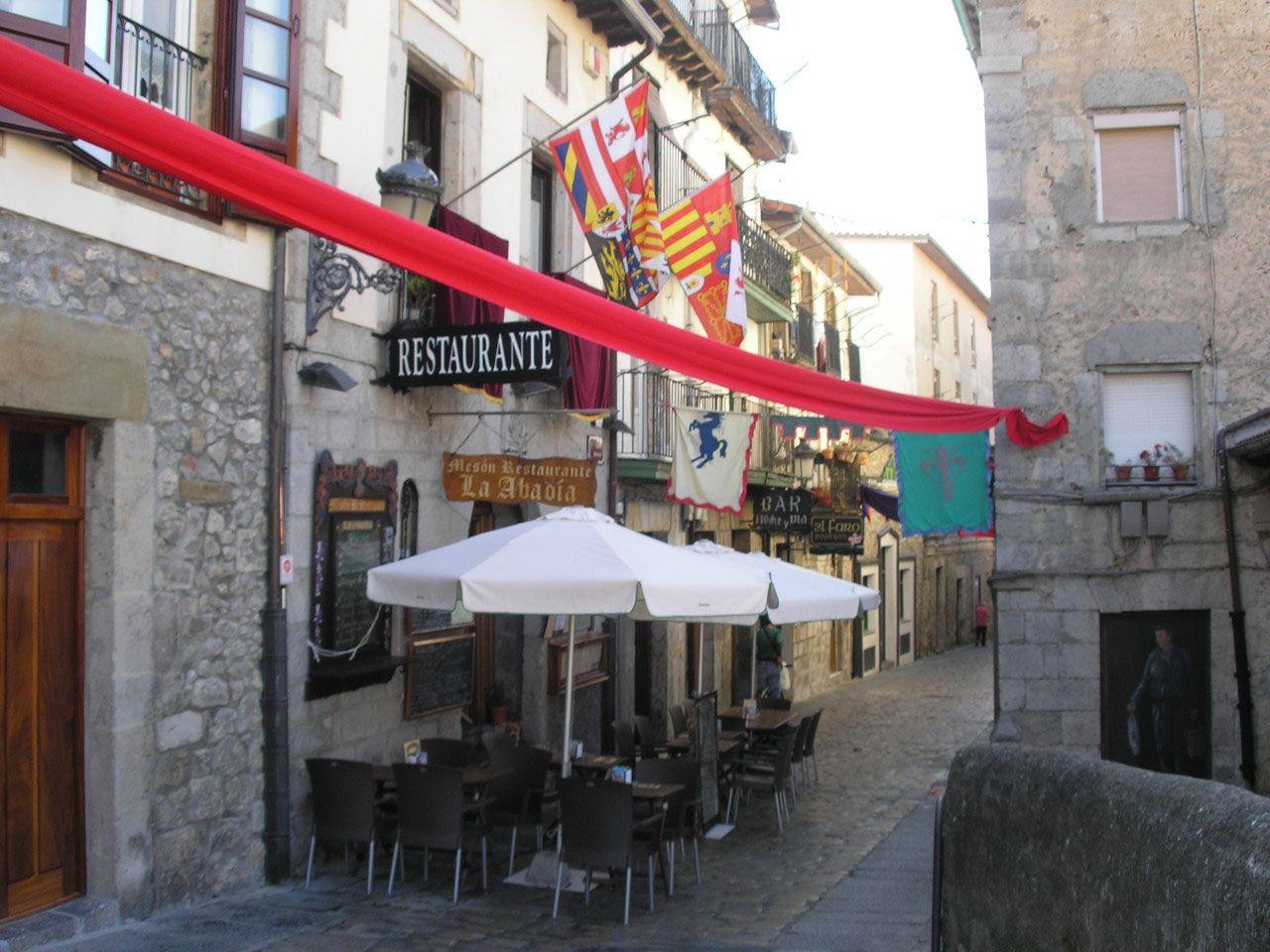Restaurante en el centro histórico de Laredo, Cantabria