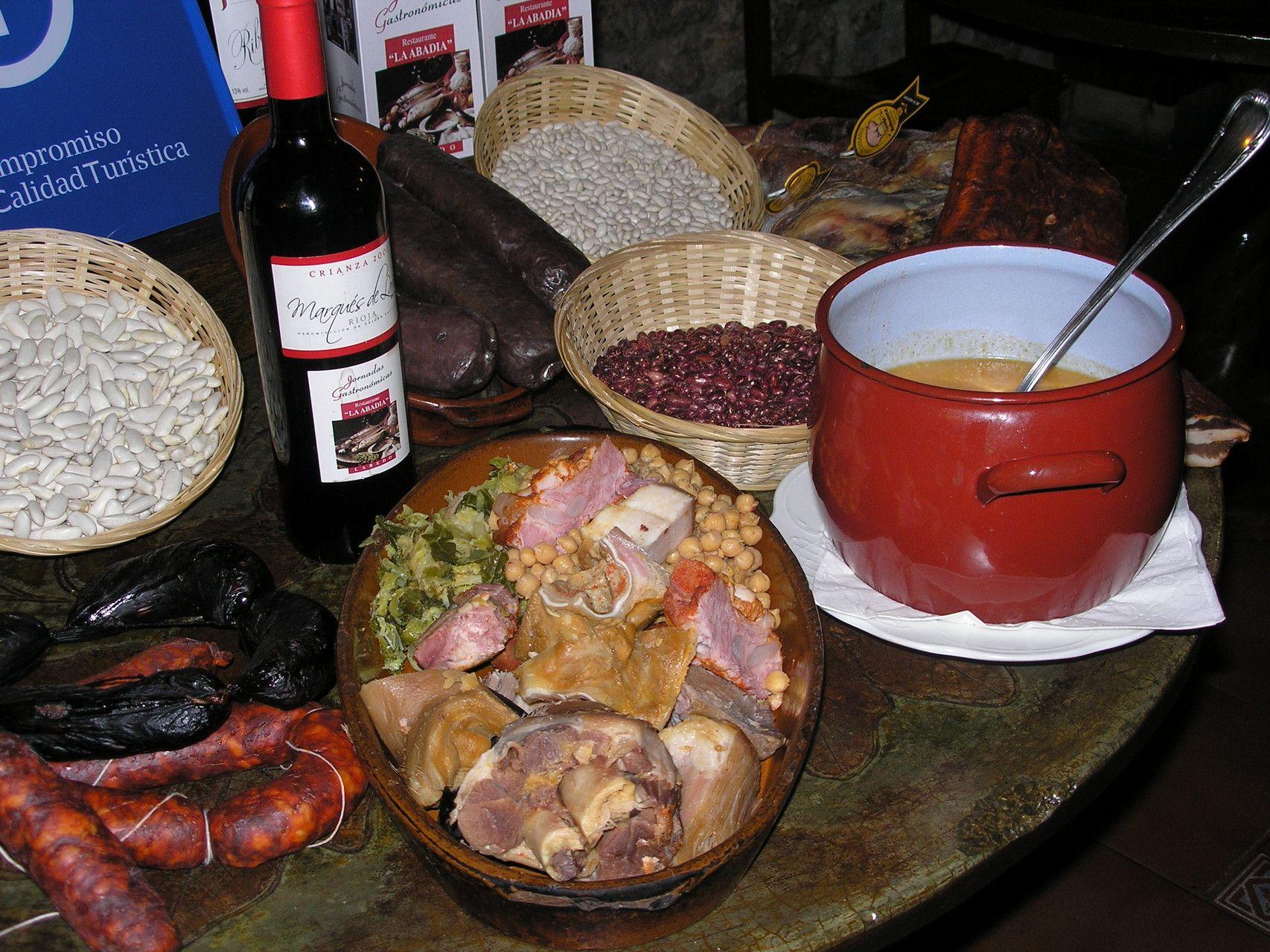 Comer cocido montañés en Laredo