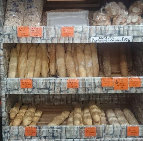 Panadería en Madrid