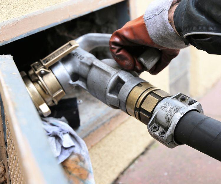Distribuidor de gasóleo para calefacción en Tordesillas, Valladolid