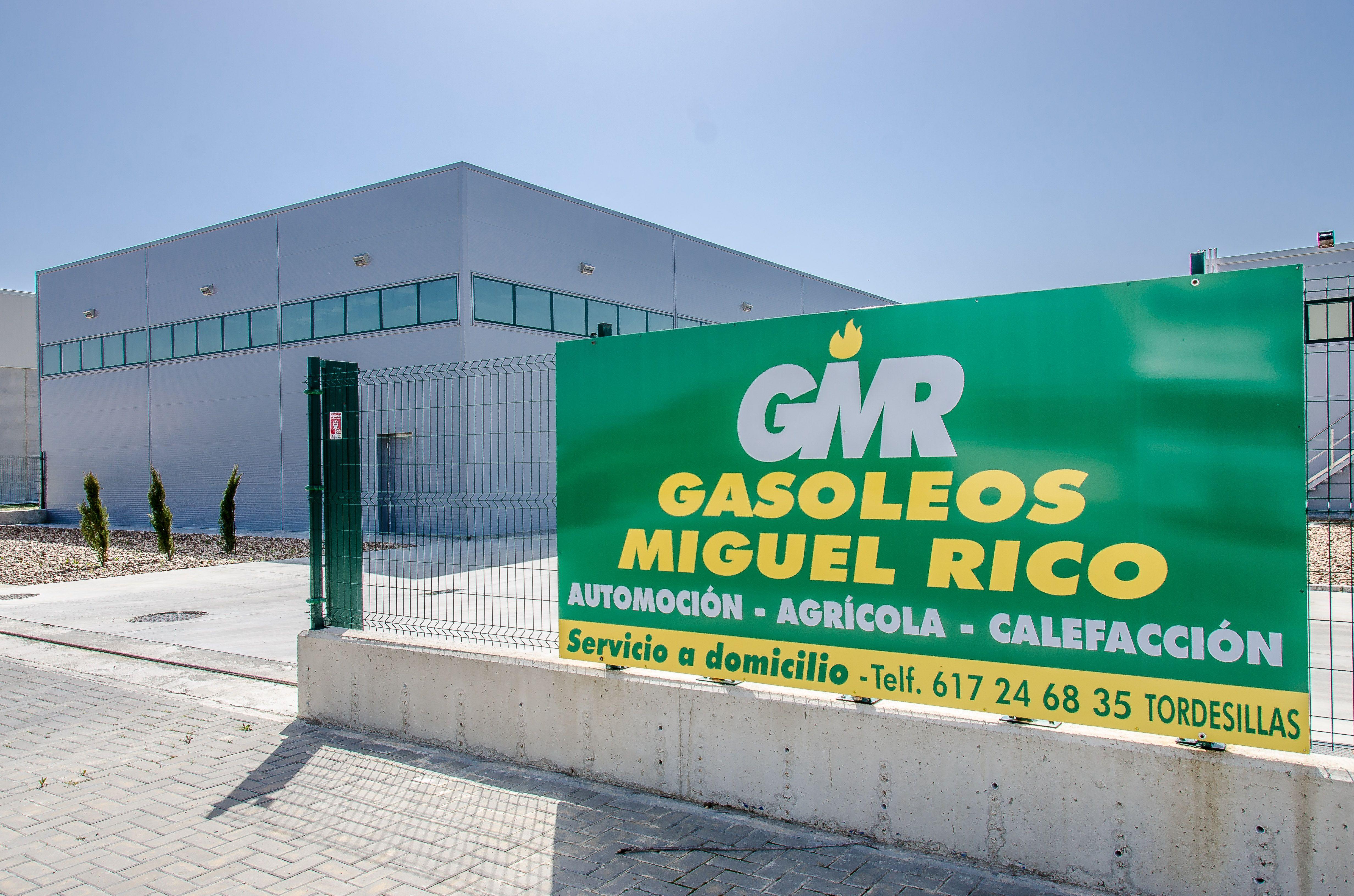 Distribución de gasóleo a domicilio en Tordesillas