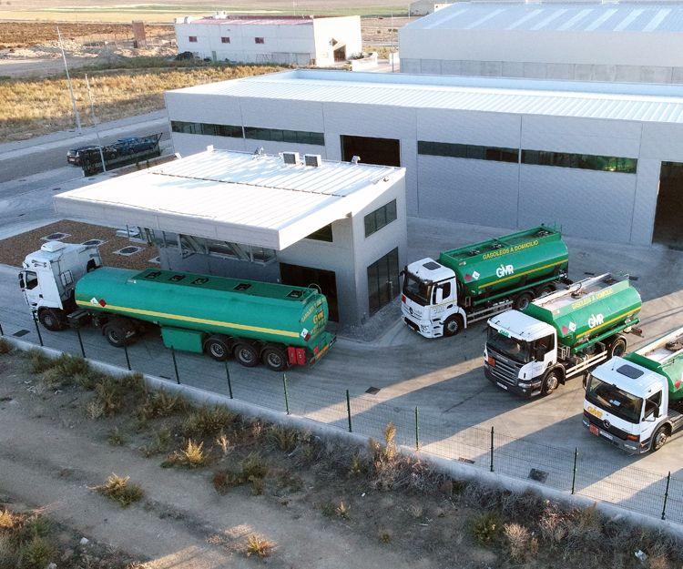 Reparto de gasóleo en Tordesillas, Valladolid
