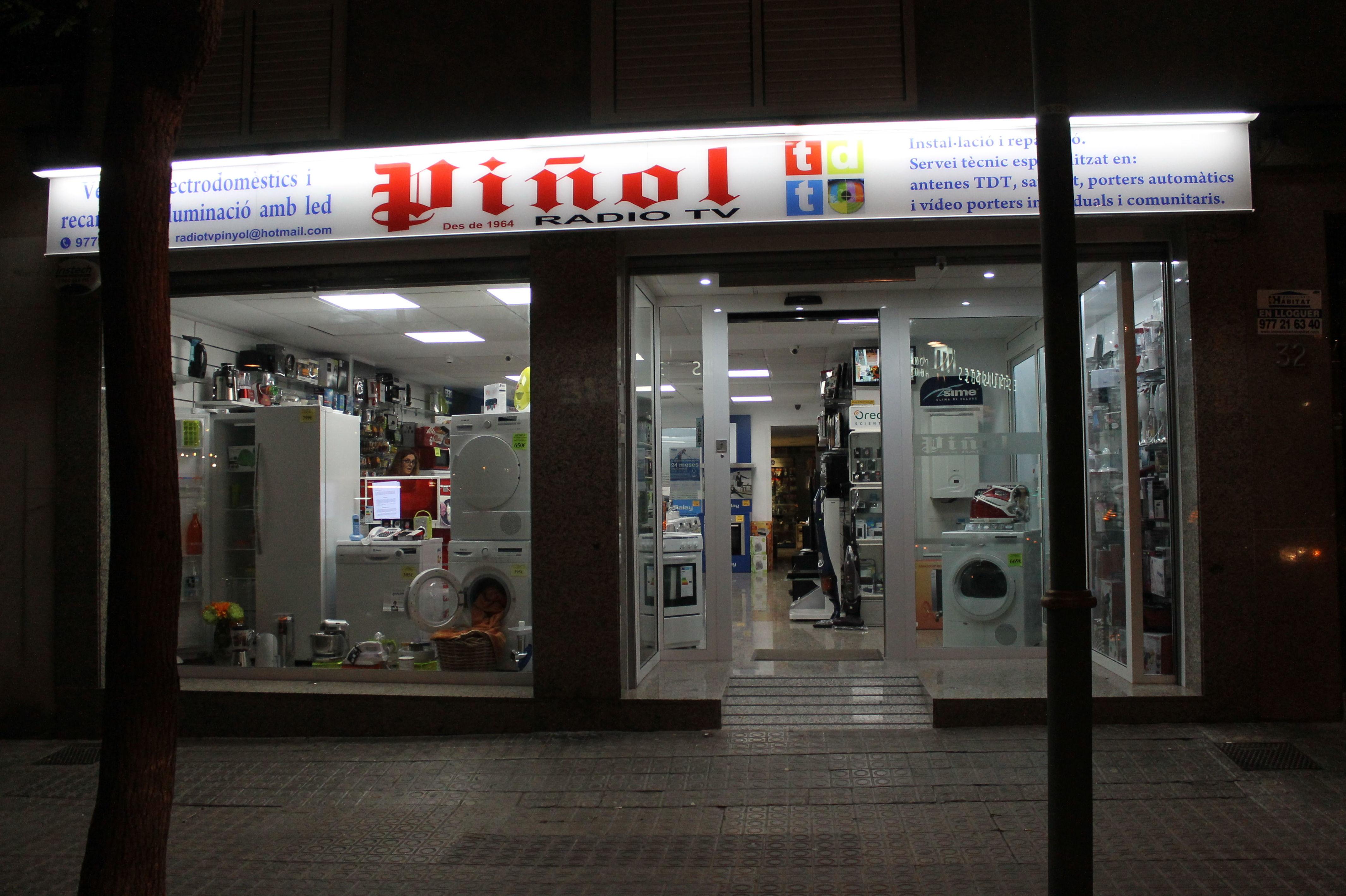 Antenas, electrodomésticos...en Tarragona