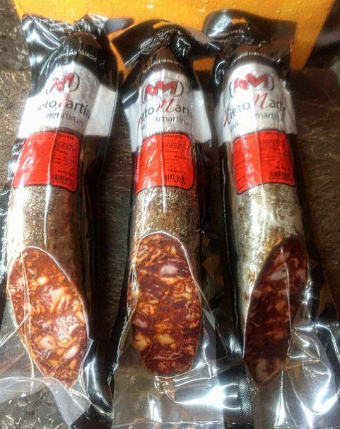 Chorizo cular Bellota Guijuelo medias piezas: Productos de El Racó del Bierzo