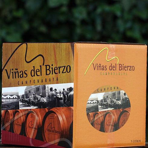 BAG IN BOX 5L. TINTO BIERZO : Productos de El Racó del Bierzo