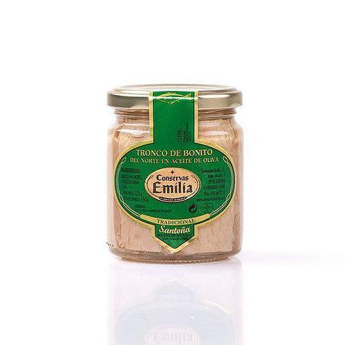 Tronco de Bonito del Norte en aceite de oliva 225 g: Productos de El Racó del Bierzo