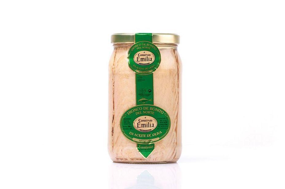 Tronco de Bonito del Norte en aceite de oliva 2000 g: Productos de El Racó del Bierzo