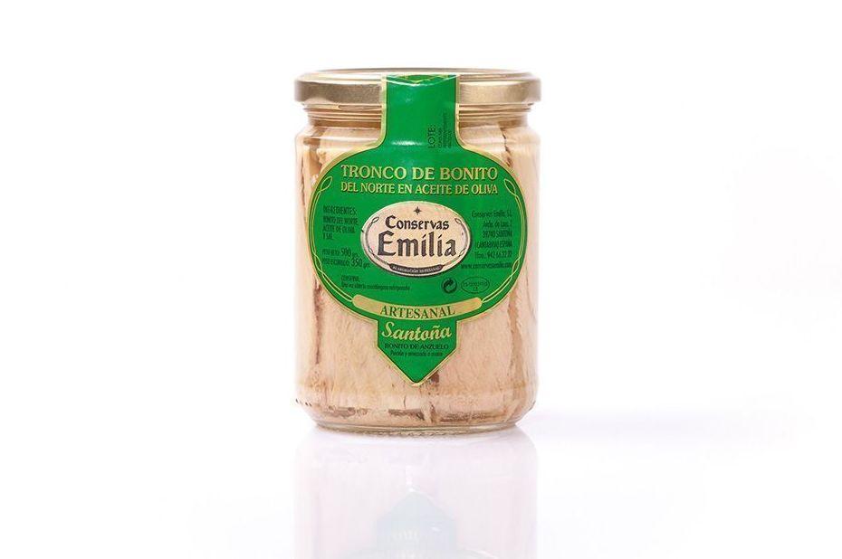 Tronco de Bonito del Norte en aceite de oliva 500 g: Productos de El Racó del Bierzo