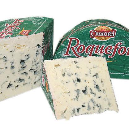 Queso Roquefort oveja Cantorel media pieza 1.400 kg: Productos de El Racó del Bierzo