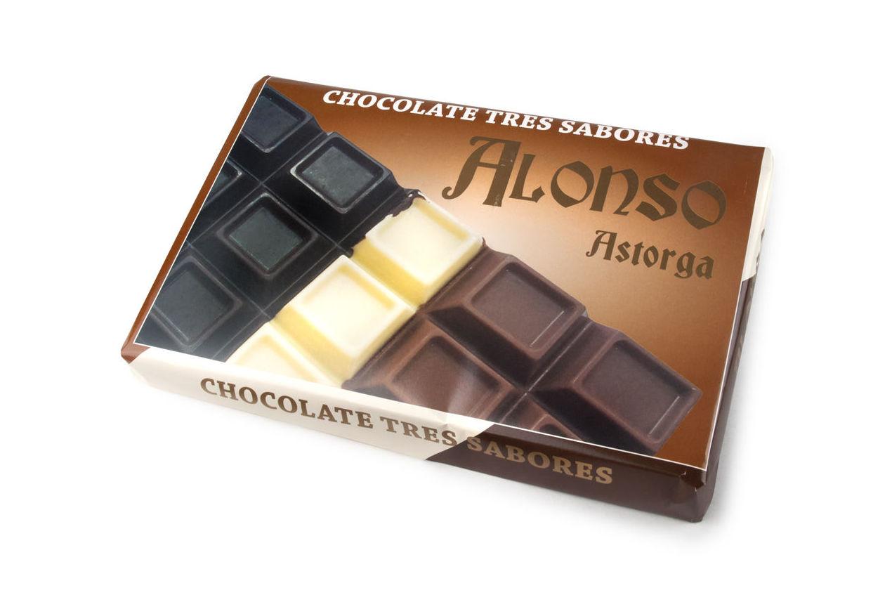 Chocolate 3 Sabores 900 grs.: Productos de El Racó del Bierzo
