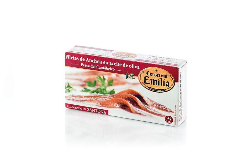 Filetes de Anchoa del Cantábrico en aceite de oliva 50 g: Productos de El Racó del Bierzo