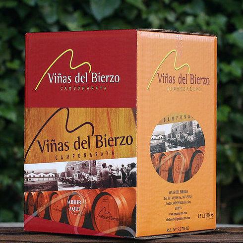 BAG IN BOX 15L. TINTO BIERZO: Productos de El Racó del Bierzo