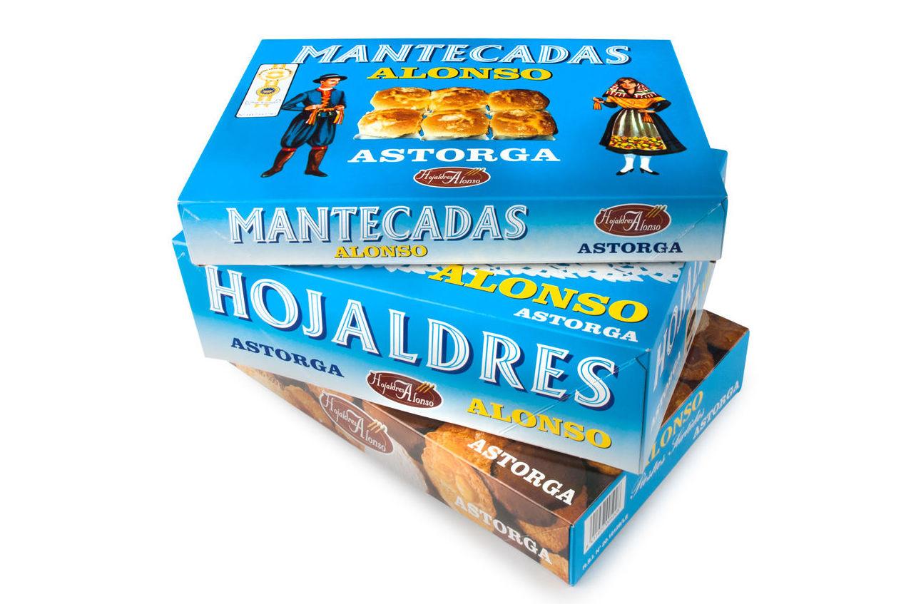 Pack oferta Pastas+Mantecadas+Hojaldres: Productos de El Racó del Bierzo