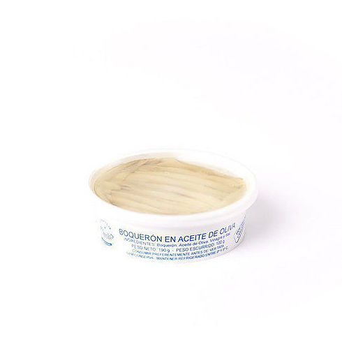Boquerones del Cantábrico en aceite de oliva 190 g : Productos de El Racó del Bierzo