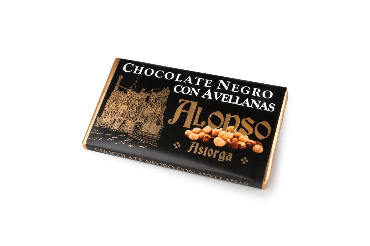 Chocolate negro con avellanas Alonso: Productos de El Racó del Bierzo